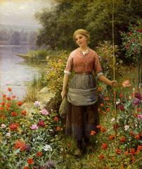Марта, день рыбалки.