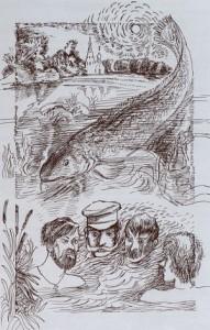 Каждый раз, читая произведения разных  писателей, убеждаешься, что классики о рыбалке писали  часто.