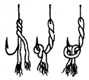 Скрученная прядь шелковника в виде восьмерки