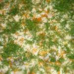 Судак с рисом в сметане